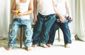 Джинсовая одежда для детей оптом мода детки